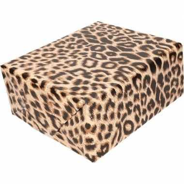 Cadeaupapier tijgerprint/tijgerprint 200 cm