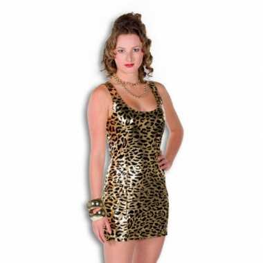 Gouden jurkjes met tijgerprint