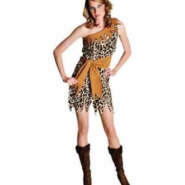 Jurkje met tijger print voor dames