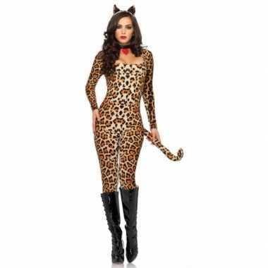 Leg Avenue sexy tijger catsuit met oortjes