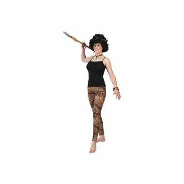 Tijgerprint legging voor dames