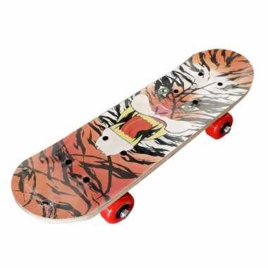 Tijgerprint skateboard 81 cm