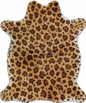 Jachttijger pluche namaak dierenvel kleed 90 cm