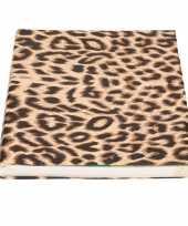 Kaftpapier tijgerprint tijgerprint 200 cm