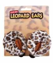 Tijgeren verkleed setje oren