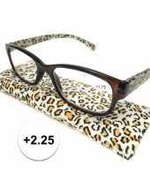 Voordelige tijgerprint leesbril 2 25